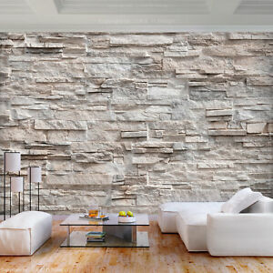 Vlies fototapete steinoptik sandstein steinwand 3d effekt for Tapete steinoptik gunstig