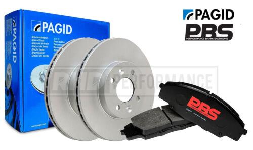 FRONT PBS BRAKE PADS /& PAGID DISCS KITFOR HONDA S2000 AP1 AP2 VTEC