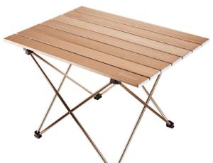 sac de transport Couleur Or Nouveau Camp de table de Replier portable