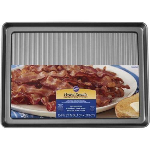 Wilton non-Stick crêpière et Bacon Pan 15 x 20 pouces