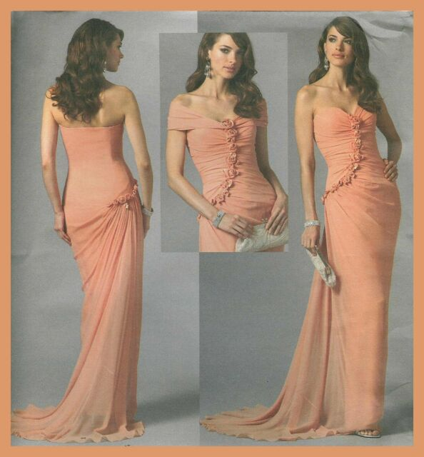 Haute Couture Evening Dress Sewing Patterns