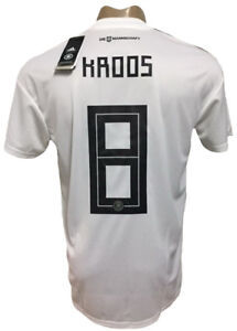 32264fefb Image is loading GERMANY-HOME-SOCCER-JERSEY-WORLD-CUP-2018-KROOS-
