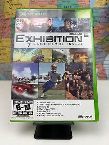 SHIPS-SAME-DAY-Original-Xbox-Microsoft-Exhibition-Volume-6-CIB-Complete-Rare