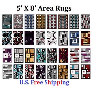 Area-Rug-5-039-X-8-039-Carpet-Flooring-Area-Rug-Floor-Decor-LARGE-SIZE-ON-SALE