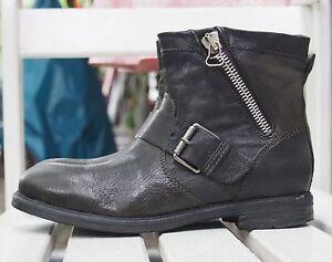 MJUS-Damenschuhe-571203-FORESTA-gruen-Stiefeletten-Echtleder-Boots-NEU-SALE-as98