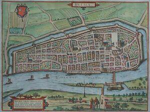 Bremen-coussins-brun Et Hogenberg-original Pour 1580-rare Feuille-afficher Le Titre D'origine Ofbyozlp-10112115-284409768