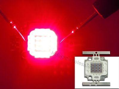 5W 10W 100W Dark Red 660nm High Power LED Grow Light Bulb Lamp For Plant Growth