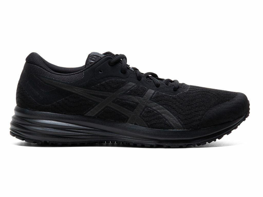 ASICS Men's Patriot 12 Black/Black Running Shoes 1011A823-003