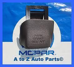 DODGE RAM 1500 2500 3500 Agate Parking brake Release handle NEW OEM MOPAR