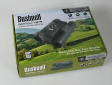 BUSHNELL IMAGE VIEW DIGITAL CAMERA BINOCULARS IN BOX