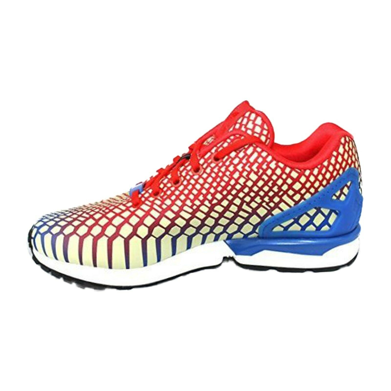 adidas Originals ZX Flux Xeno Men's Running Shoes Red Blue White size 10 NIB
