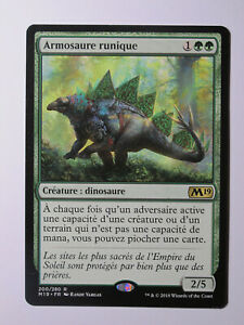 Armosaure-runique-MTG-Magic-Francais