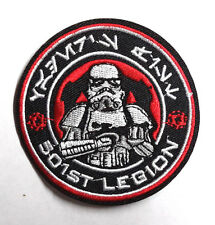 """Star Wars 501st Legion Stormtrooper Red Cog 3""""  Patch-FREE S&H(SWPA-FC-14)"""