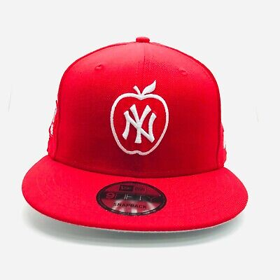 New Era MLB Red on Red New York Yankees 9Fifty Snapback Hat