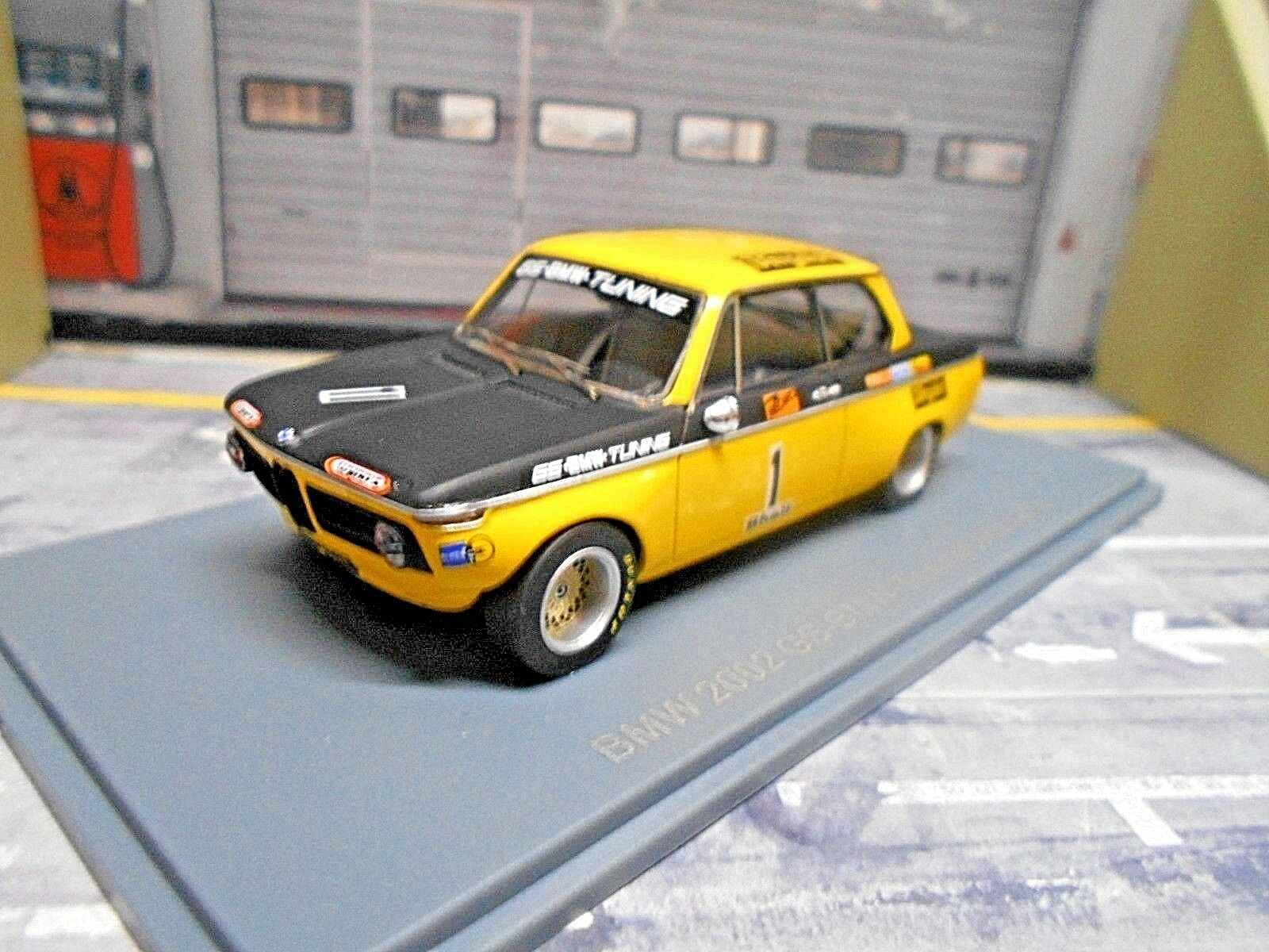 BMW 2002 2002i RACING DRM 1972 team GS  1 basche vergölst NEO resin RAR 1 43