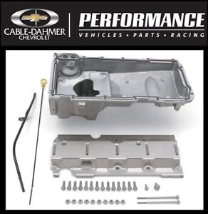 Cable Dahmer Chevrolet >> Chevrolet Performance LS Muscle Car Oil Pan Kit 19212593 ...