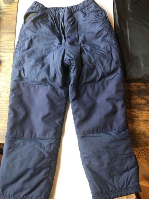 3f390d2eb90f9 L.L.BEAN Youth Boys Girls kids Ski Snowboard Snow Pants Thinsulate 14 navy  blue