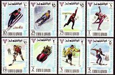 Umm al qiwain 1968 ** mi.233/40 a los juegos olímpicos de invierno Olympic Games