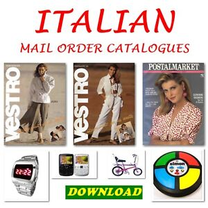 Italian Catalogues Mail Order Catalogues Download Pdf Business, Office & Industrial Other Office Equipment