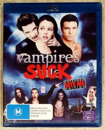 1 of 1 - Vampires Suck (Matt Lanter) BLU-RAY in EXCELLENT condition (Region B)