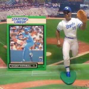1989 DANNY TARTABULL Starting Lineup Baseball Figure & Card - KANSAS CITY ROYALS