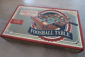 Neuf-onu Voulait Cadeau Rétro Jeux De Baby-foot Table-afficher Le Titre D'origine