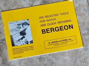 Bergeon-watch-tool-1969-Swiss-catalog-of-250-tools-for-watch-and-clock-repair