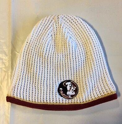 NCAA College Cuffless Winter Beanie Hat Knit Skull Toque Cap