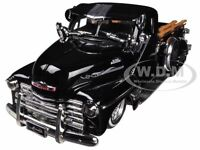 1951 Chevrolet Pickup Truck Lowrider Black 1/24 Diecast Model By Jada 96802
