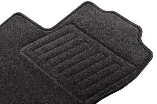 Anthrazit Textil Fußmatten 2001-2014 Graphit Opel Vivaro I Bj