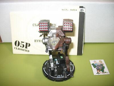 =Mechwarrior STEEL WOLVES Jeni Wolf 117 Sun Cobra with dossier 41 =