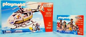 PLAYMOBIL-Tactical-Unit-Helicopter-9363-PLAYMOBIL-Tactical-Unit-Team-9365
