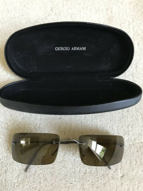 8acfa58ba37 Giorgio Armani Mens Gents Sunglasses With Case - Worn Once Top Condition