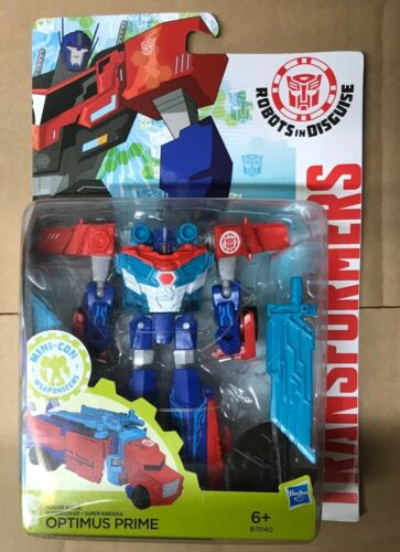 Transformers Animated Power Surge Superpower Optimus Prime Hasbro Neu und OVP