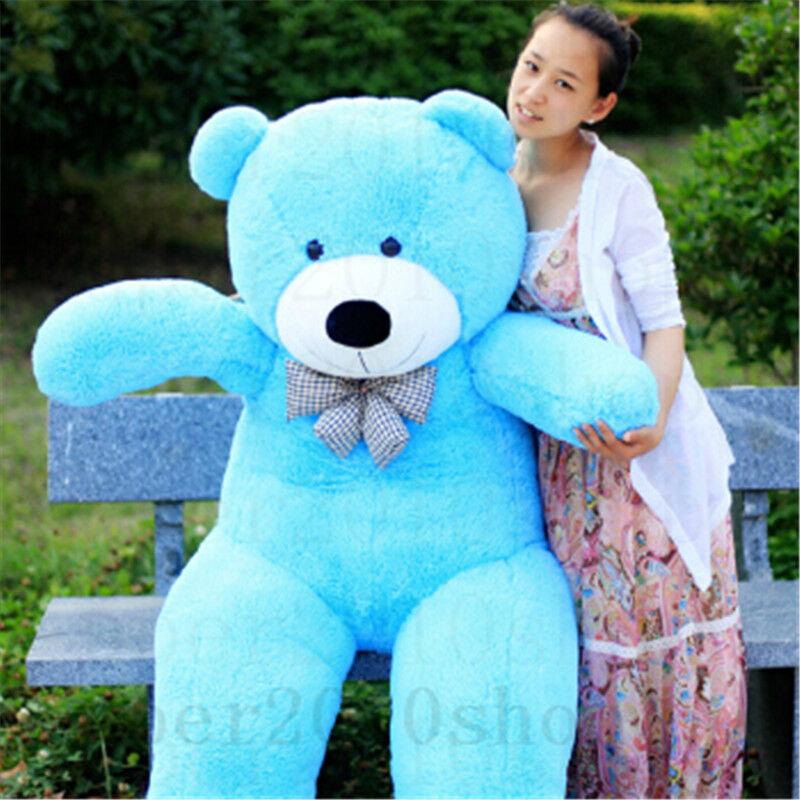 72'' Giant Huge Big Teddy Bear Stuffed Animal Plush Soft toy Christmas kids gift