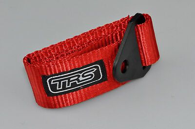 MSA Compliant Race//Rally//Competition Car TRS Fixed Tow Eye Strap//Loop RED