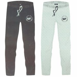 Harvey-Miller-Polo-Club-Pyjamahose-Gr-M-2XL-Herren-Schlafhose-Grau-Blau-Oko-Tex