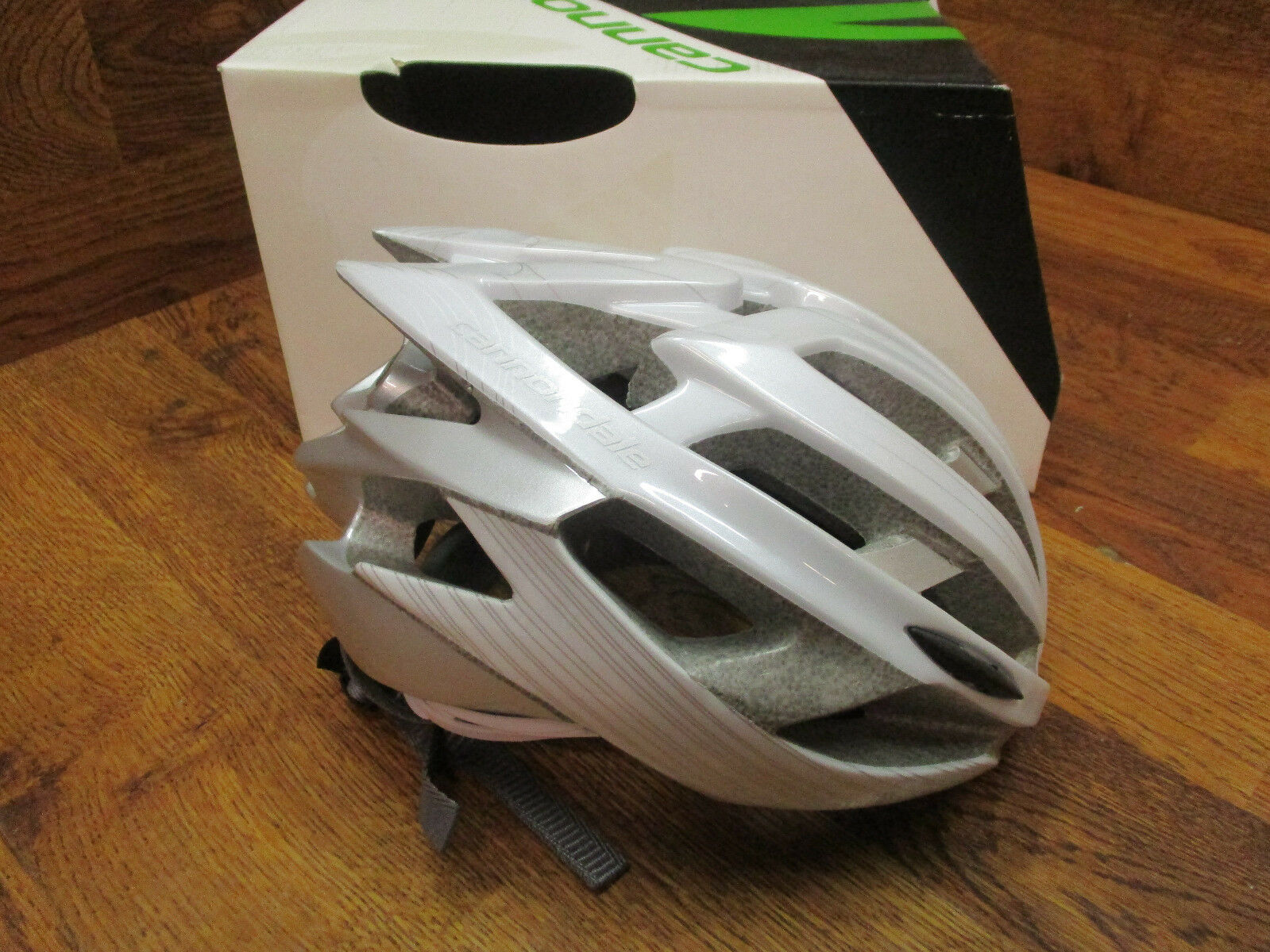 CANNONDALE CYPHER BICYCLE  BIKE CYCLING ROAD HELMET - WHITE - L-XL 58-62 CM  first-class service
