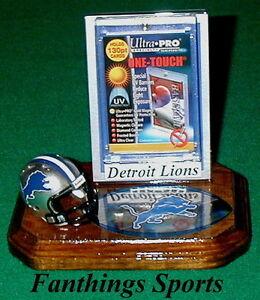 Detroit-Lions-NFL-Sports-Card-Display-Holder-Helmet-Logo-Gift