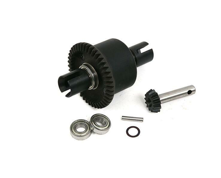 Metal rear differential kit diff gear for losi 5ive-t 1/5 rc car gas 1 set