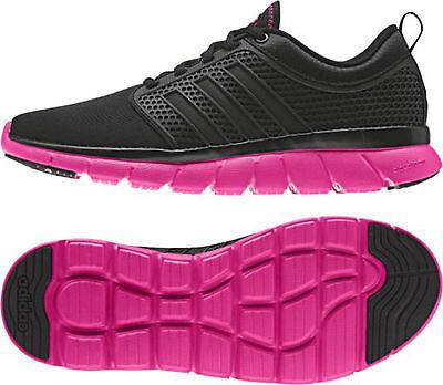 ADIDAS CLOUDFOAM GROOVE W black/pink AQ1532 NEO Damen Sneaker Sportschuhe |  eBay
