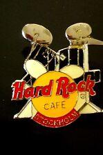 HRC Hard Rock Cafe Stockholm Black Drum Set Yellow Logo 2LC