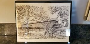 Windsor-Cornish Covered Bridge Vermont & New Hampshire J. Harold Bailey
