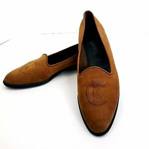 ca7def83c8e Image is loading Calvin-Klein-Suede-Shoes-Vtg-Flats-Classifications-Size-