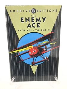 The-Enemy-Ace-Archives-Volume-2-Star-Spangled-War-DC-Comics-HC-Hard-Cover-New