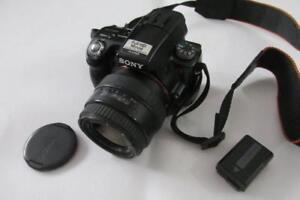 Sony-Alpha-A55-16MP-Digital-SLR-SLT-camera-camescope-AF-35-80-Sigma-Lentille-pas-cher