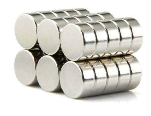 100pcs Neodymium Disc Mini 10mm X 4mm Rare Earth N35 Strong Magnets Craft Models