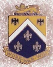 Army DI pin - 4th Transportation BN - nhm, German made