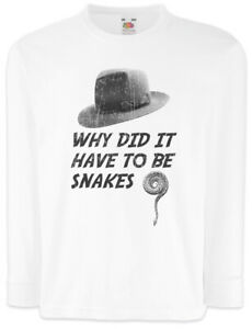 Why-Did-It-Have-To-Be-Snakes-Kinder-Langarm-T-Shirt-Indiana-Fun-Jones-Schlangen