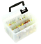 Frabill Plano Hydro Flo Hanging Spinner Bait Stowaway Clear Fishing Box Bag SALE